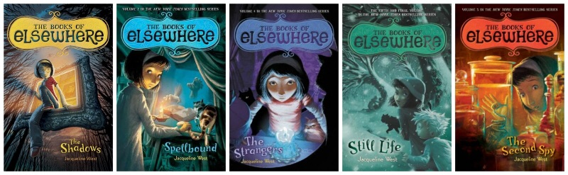 The Books Of Elsewhere Series - Jacqueline West
